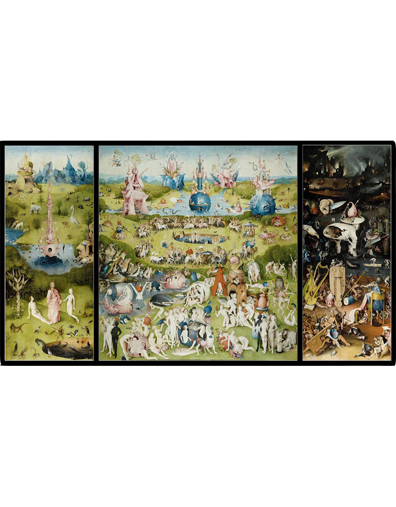 """Bosch - Garden of Earthly Delights Poster 36""""x24"""""""