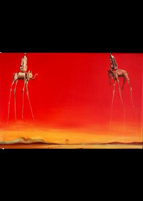 Dali - Les Elephants Poster