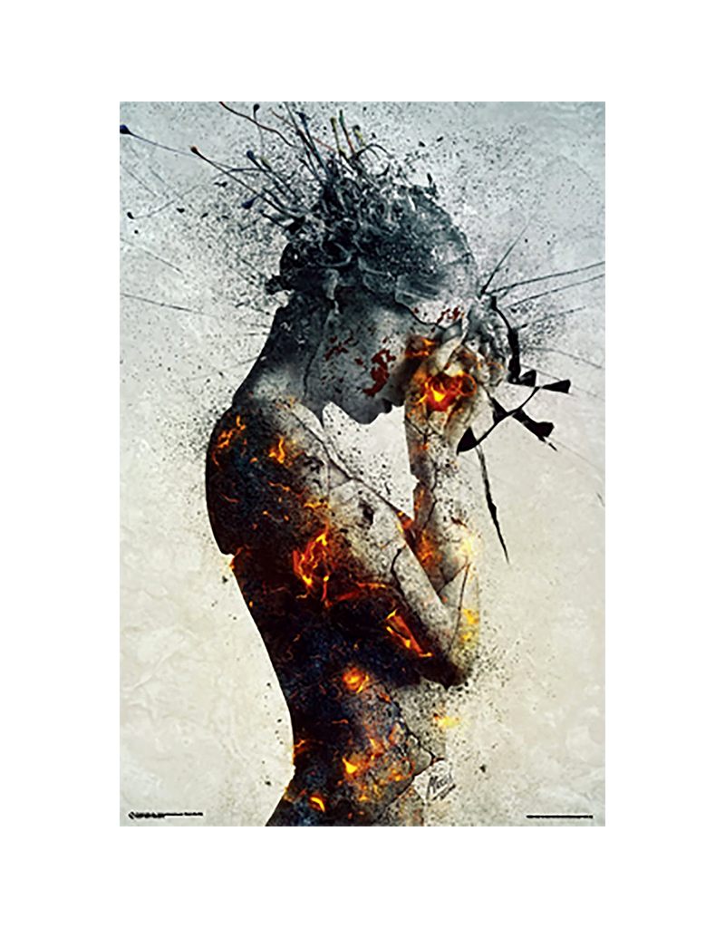 """Deliberation Girl Poster 24""""x36"""""""