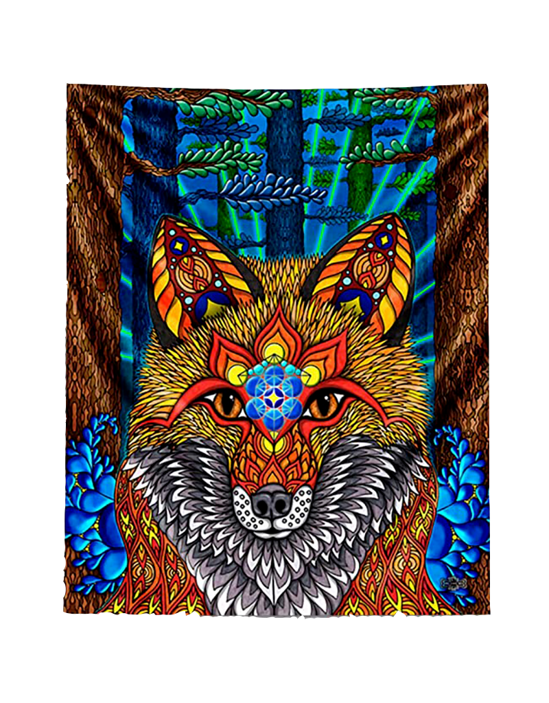 """Electric Fox Poster 24""""x36"""""""