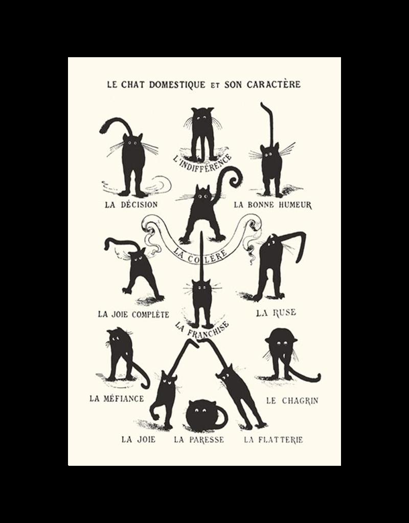 """Le Chat Domestique Poster 24""""x36"""""""
