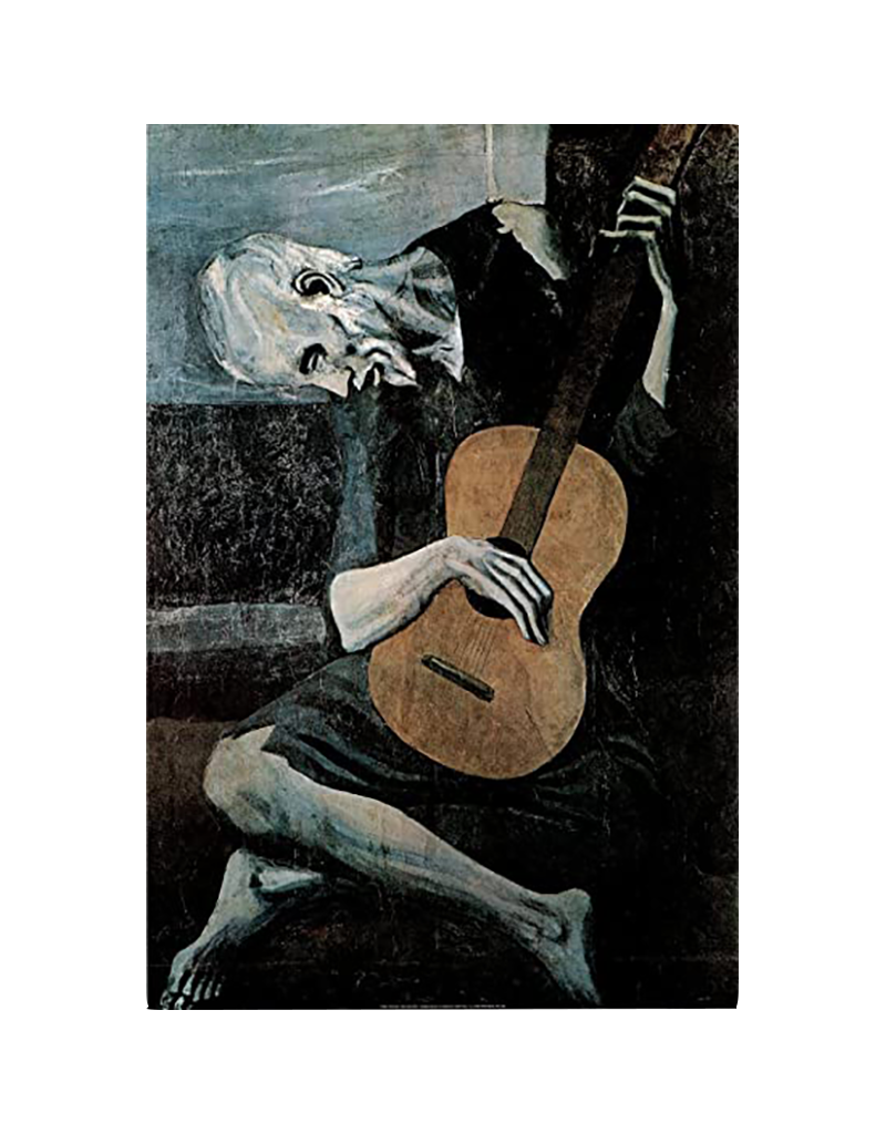 """Picasso - Old Guitarist Poster 24""""x36"""""""