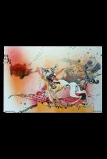 """Ralph Steadman - Raging Bitch Poster 36""""x24"""""""