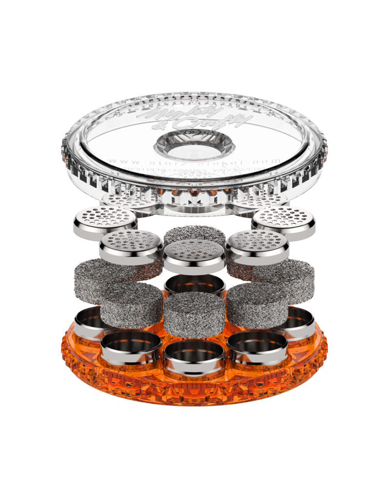 STORZ & BICKEL Magazine With 8 Dosing Capsules for Concentrates