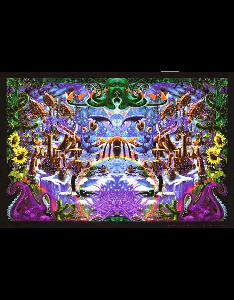 """Octopus's Garden Blacklight Poster 36""""x24"""""""