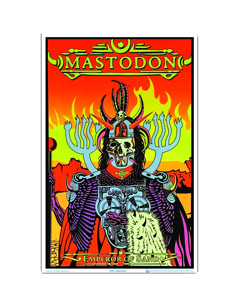 "Mastodon - Blacklight Poster 23""x35"""