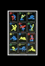 "Zodiac Position Blacklight Poster 23""x35"""