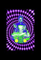"Steez - Buddha Boombox Blacklight Poster 23""x35"""