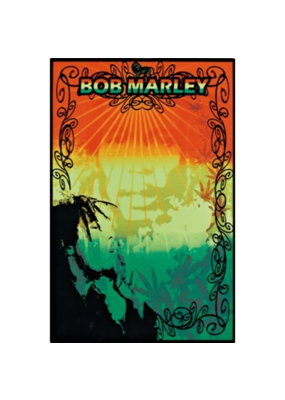 "Bob Marley - Mellow Blacklight Poster 24""x36"""