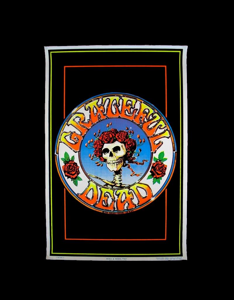 "Grateful Dead - Skull with Roses Blacklight Poster 23""x35"""