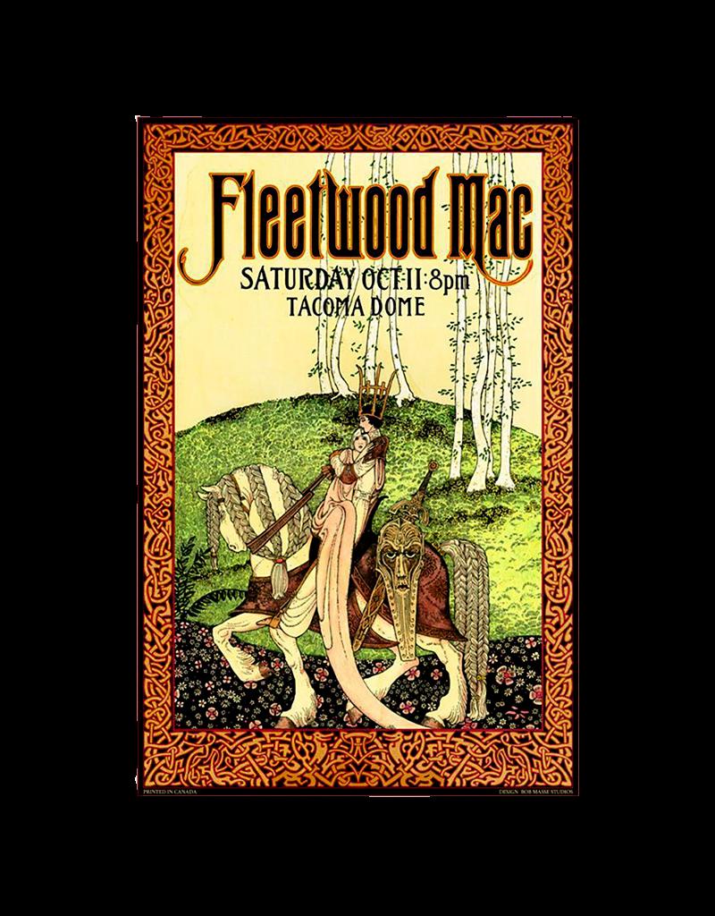 """Bob Masse - Fleetwood Mac Concert Poster 16""""x23"""""""