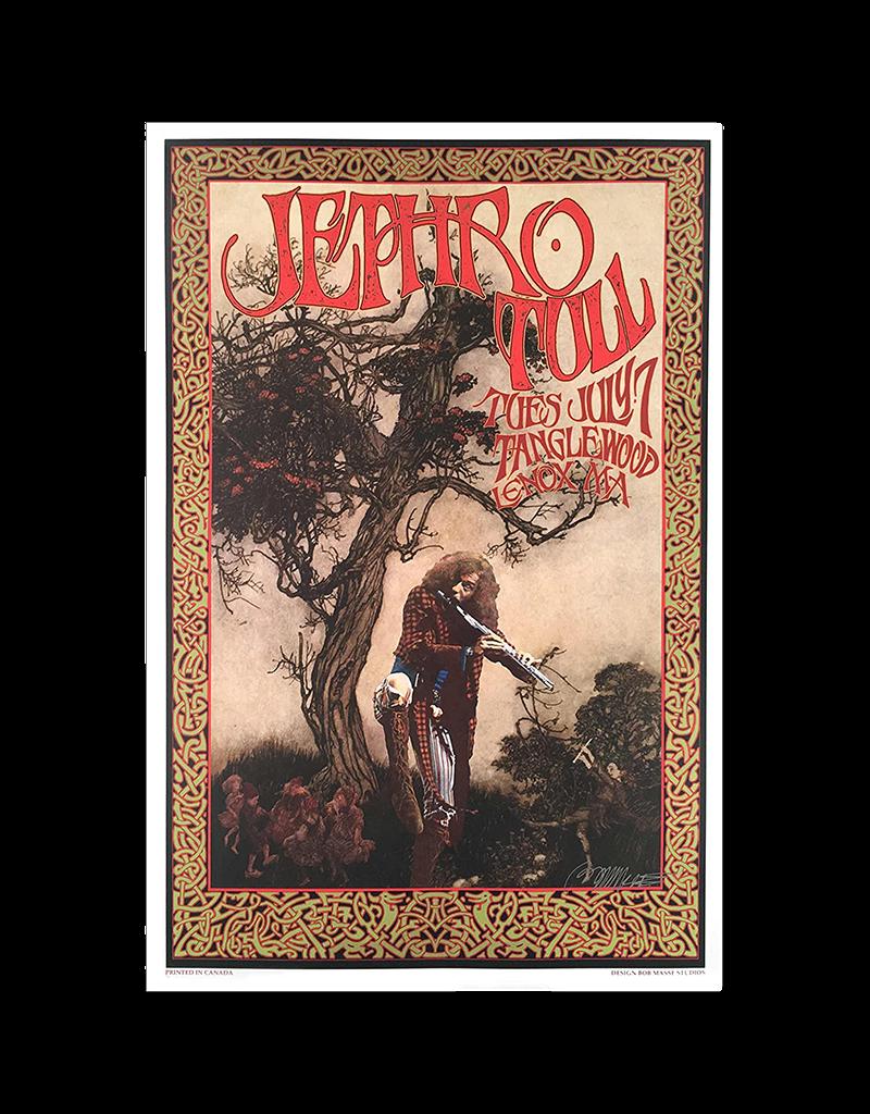 "Bob Masse - Jethro Tull Tanglewood Concert Poster 15.5""x23.5"""