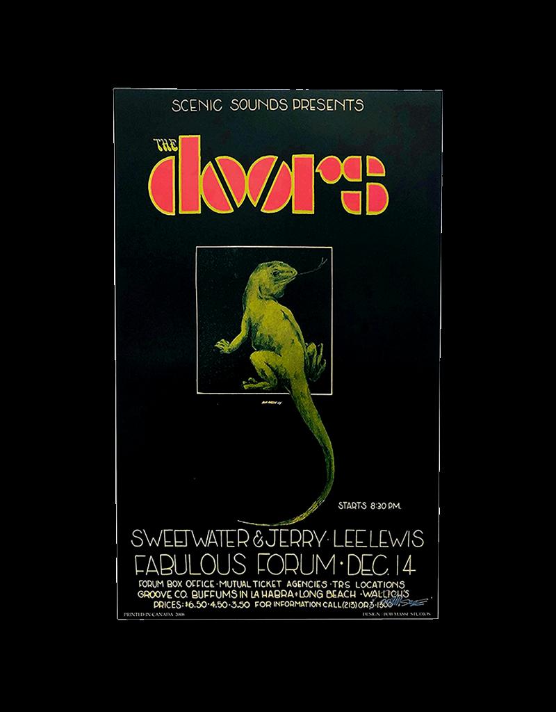 "Bob Masse - The Doors Lizard Concert Poster  14""x23"""