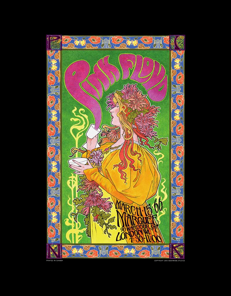 "Bob Masse - Pink Floyd Poster  24""x36"""
