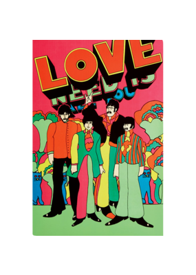 "Beatles - All You Need is Love Poster  24""x36"""