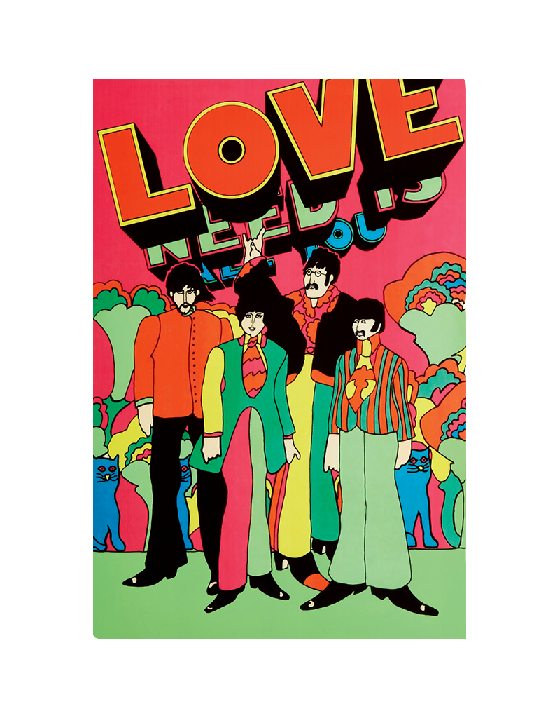 """The Beatles - All You Need is Love Poster  24""""x36"""""""