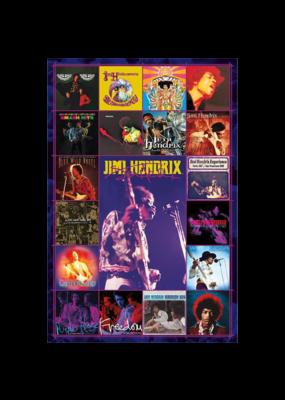 "Jimi Hendrix - Discography Poster 24""x36"""