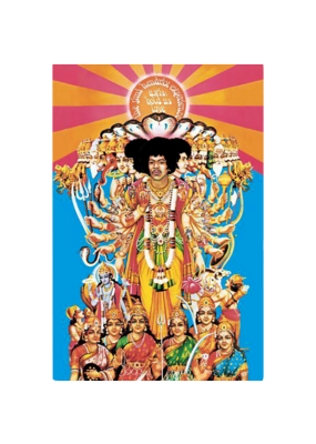 "Jimi Hendrix - Axis Bold Is Love Poster 24""x36"""