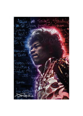 "Jimi Hendrix - Electric Legend Poster 24""x36"""