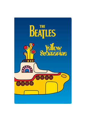 """The Beatles - Yellow Submarine Cover Poster 24""""x36"""""""