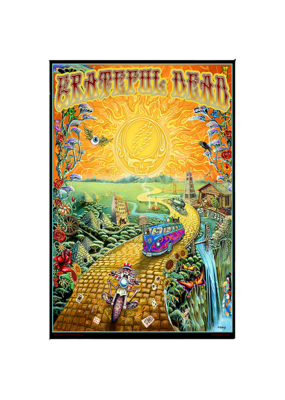 "Grateful Dead - Golden Road Poster 24""x36"""