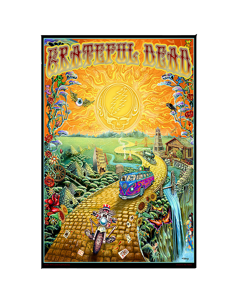 "Grateful Dead - Golden Road Poster 24""x36"""