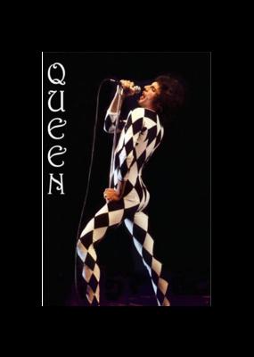 """Queen - Freddie Mercury Leotard Poster 24""""x36"""""""