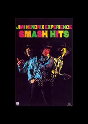 """Jimi Hendrix - Smash Hits Poster 24""""x36"""""""