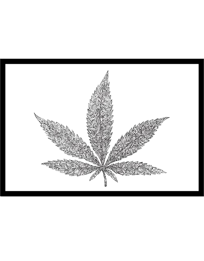 """Color Me Weed Poster 36""""x24"""""""