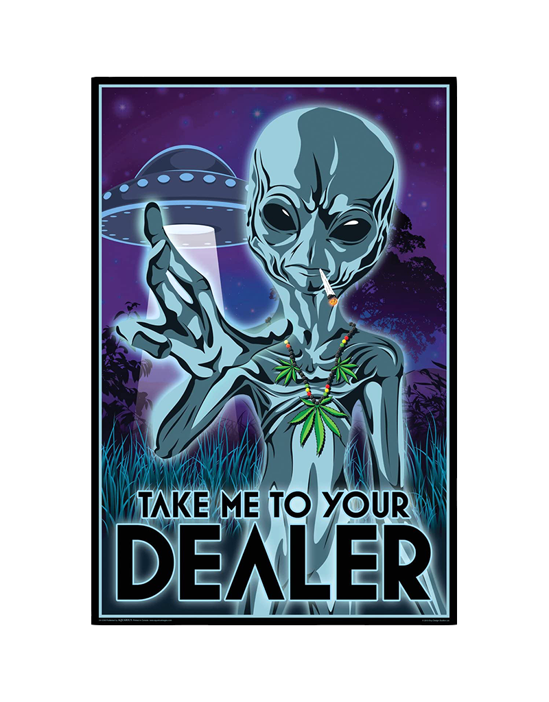 """Take Me To Your Dealer Poster 24""""x36"""""""