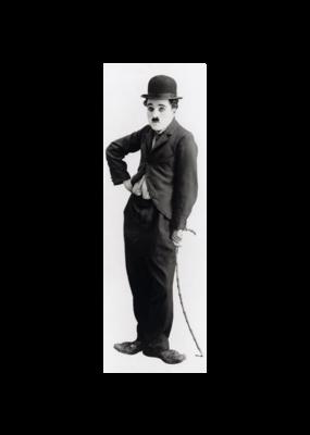 """Charlie Chaplin - Tramp Door Poster 21""""x62"""""""