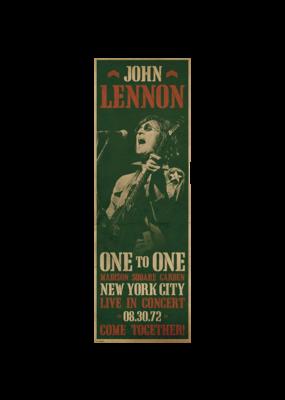 "John Lennon - Concert Door Poster 12""x36"""