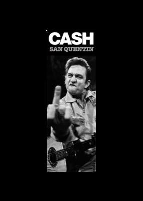 """Johnny Cash - San Quentin Door Poster 12""""x36"""""""