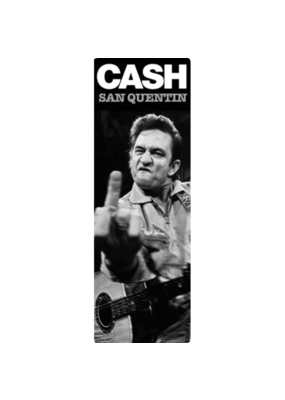 "Johnny Cash - San Quentin Door Poster 21""x62"""