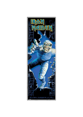 "Iron Maiden - Door Poster 12""x36"""