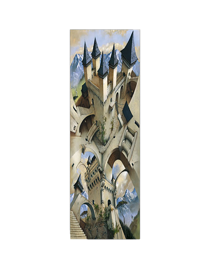 "Castle of Illusion Slim Door Poster 12""x36"""