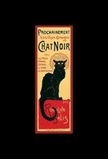 """Chat Noir Slim Door Poster 12""""x36"""""""