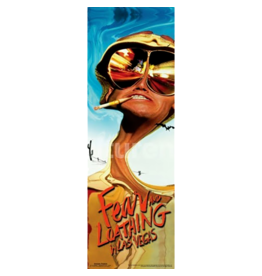 """Fear and Loathing Slim Door Poster 12""""x36"""""""