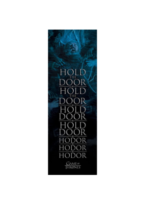 "Game Of The Thrones - Hodor Door Poster 12""x36"""