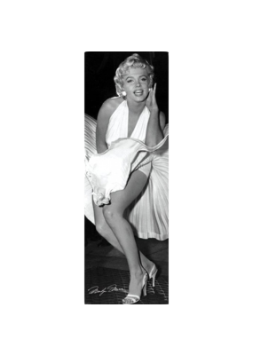 "Marilyn Monroe - Seven Years Slim Door Poster 12""x36"""