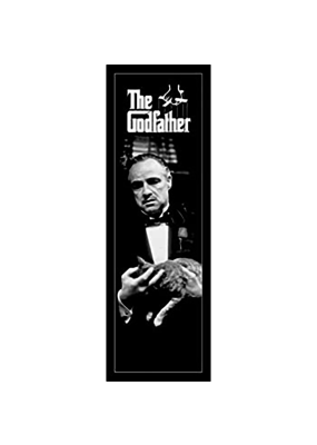 "The Godfather - Cat Door  Slim Poster 12""x36"""