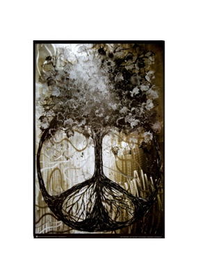 "Tree Of Peace Poster 24""x36"""