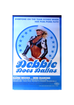 "Debbie Does Dallas Poster 24""x36"""