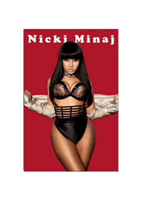 "Nicki Minaj - Red Poster 24""x36"""