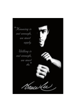"""Bruce Lee - Quote Poster 24""""x36"""""""