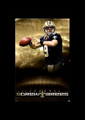 "Drew Brees - Poster 24""x36"""