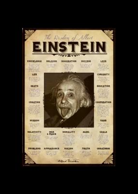 """Einstein - Quotes Poster 24""""x36"""""""