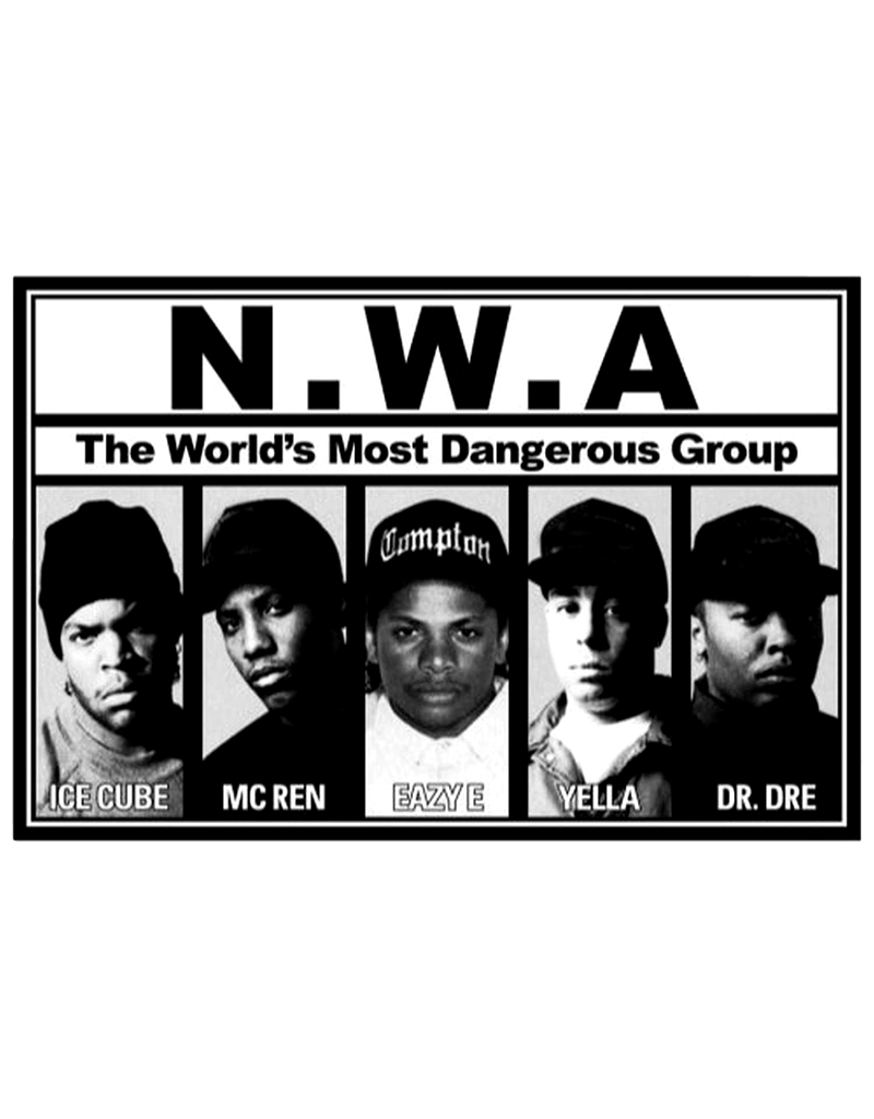 "NWA - Most Dangerous Poster 24""x36"""