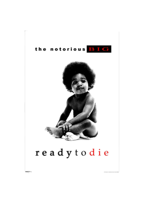 """Notorious BIG - Ready to Die Poster 24""""x36"""""""