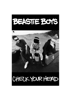 """Beastie Boys - Check Your Head Poster 24""""x36"""""""